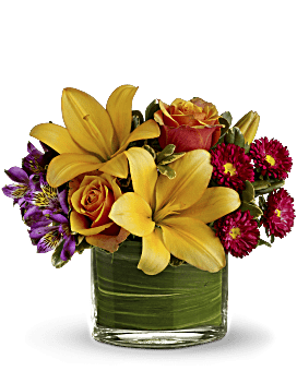 Blossoms Of Joy   Mixed Bouquets   Same Day Flower Delivery   Multi-Colored   Teleflora