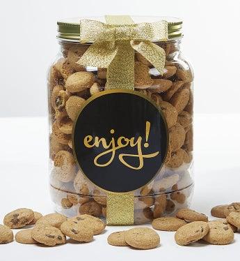 Enjoy! Chocolate Chip Cookie Jar - Large