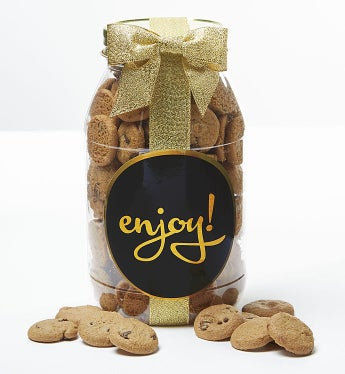Enjoy! Chocolate Chip Cookie Jar - Medium