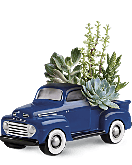 His Favorite Ford F1 Pickup   Mixed Bouquets   Same Day Flower Delivery   Multi-Colored   Teleflora