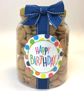 It's Your Birthday! Chocolate Chip Cookie Jar - L