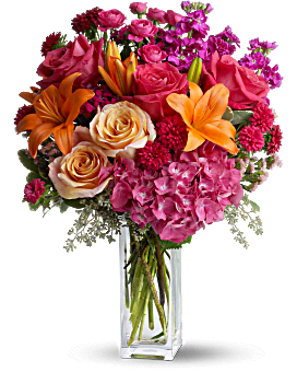 Joy Forever | Mixed Bouquets | Same Day Flower Delivery | Multi-Colored | Teleflora
