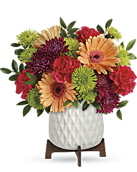 Mid Mod Brights Bouquet | Mixed Bouquets | Same Day Flower Delivery | Multi-Colored | Teleflora