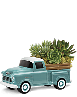 Perfect Chevy Pickup | Mixed Bouquets | Same Day Flower Delivery | Green | Teleflora